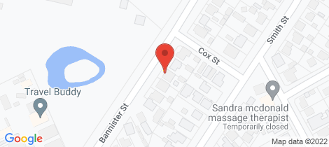 Location map for 80 Bannister Street North Bendigo