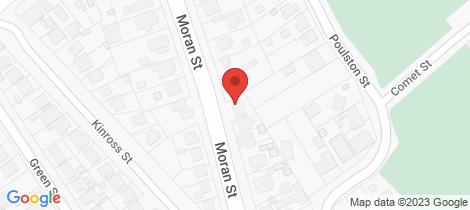 Location map for 52b Moran Street Long Gully
