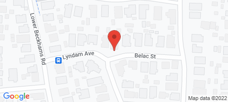 Location map for 3 Belac Street Maiden Gully