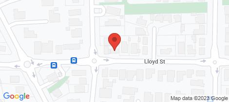 Location map for 151 Lloyd Street East Bendigo