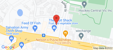 Location map for 5 Ashley Street Ironbark