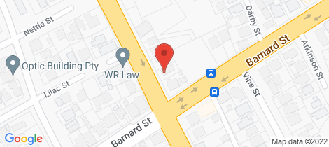 Location map for 212 Don Street Bendigo