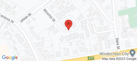 Location map for Lot 1 - 20 Moonta Street West Bendigo