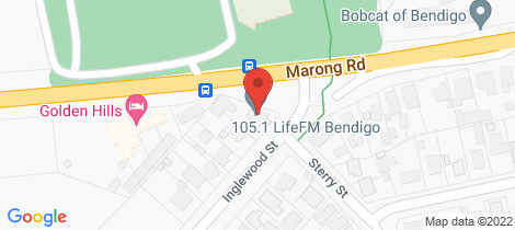 Location map for 137 Marong Road Golden Square