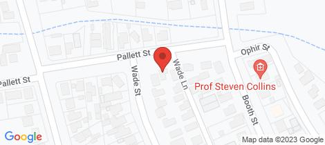 Location map for 7 Pallett Street Golden Square