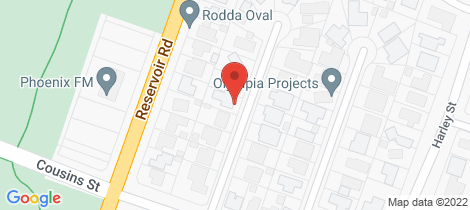 Location map for 8 Rosemary Avenue Strathdale