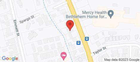 Location map for 1/39 Specimen Hill Road Golden Square
