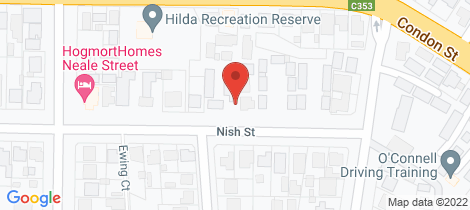 Location map for 1/23a Nish Street Flora Hill