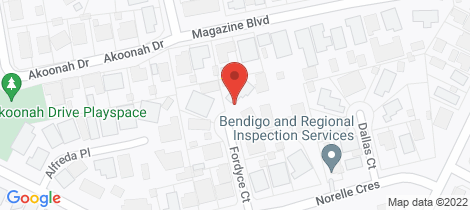 Location map for 4 Fordyce Court (off Norelle Cres) Golden Square