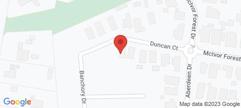 Location map for 13 Duncan Court Junortoun