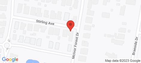 Location map for 37 McIvor Forest Drive Junortoun
