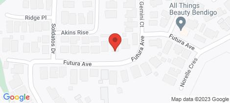 Location map for 14 Futura Avenue Golden Square
