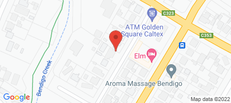 Location map for 12a Elliott Street Golden Square
