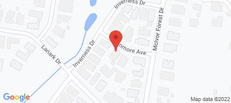 Location map for 5 Kenmore Avenue Junortoun