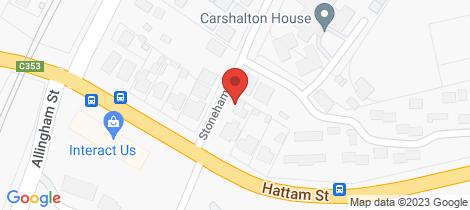 Location map for 27 Stoneham Street Golden Square