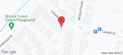 Location map for Lots 1-17 Lanark Drive (Cassinia Heights) Junortoun