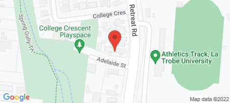 Location map for 1 - 4/1 Adelaide Street Flora Hill