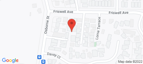 Location map for 4a Friswell Avenue Flora Hill