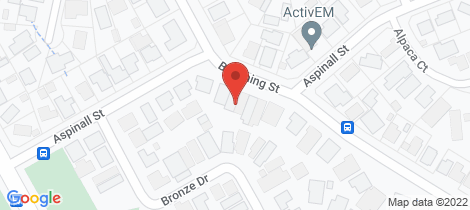 Location map for 2/205B Aspinall Street Kangaroo Flat