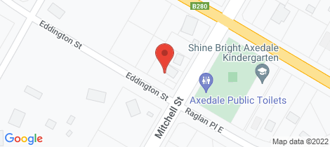 Location map for 38 Mitchell Street Axedale