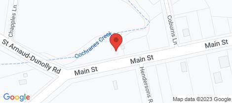 Location map for 1 Main Street Bealiba