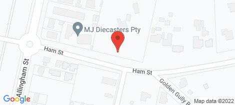 Location map for 9 - 19 Ham Street Golden Square