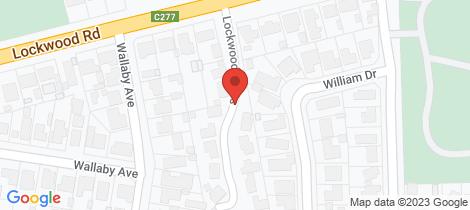 Location map for 25 Greenwood Drive Kennington
