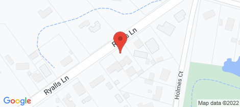 Location map for Lot 2, 21 Ryalls Lane Strathfieldsaye