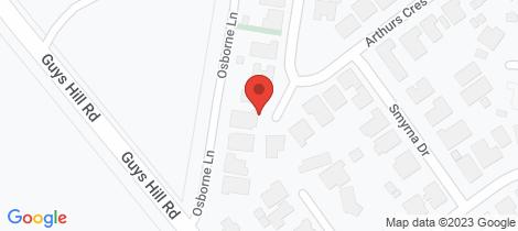 Location map for 47 Arthurs Crescent Strathfieldsaye