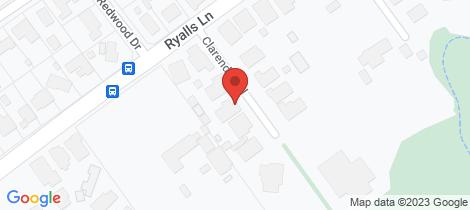 Location map for 11 Clarendon Close Strathfieldsaye