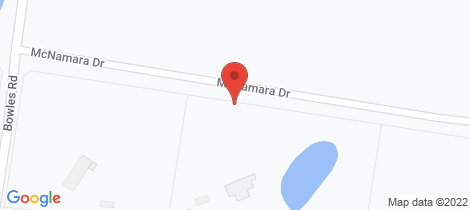 Location map for 25 McNamara Drive Eppalock