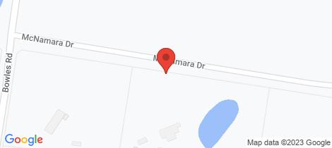 Location map for 25 McNamara Drive Eppalock