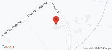 Location map for 10 Harkin Court Alma Maryborough