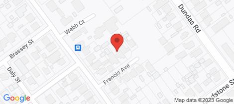 Location map for 3 Francis Avenue Maryborough