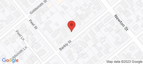 Location map for 41 Barkly Street Maryborough