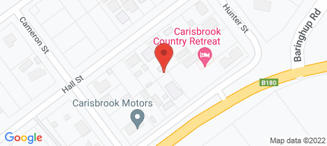 Location map for 20 Hall Street Carisbrook