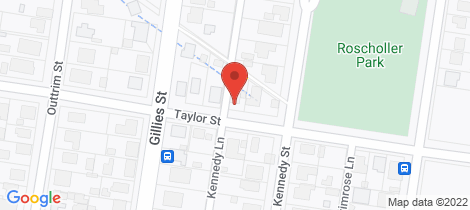 Location map for 11 Taylor Street Maryborough