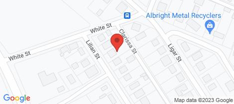 Location map for 36 Lilian Street Stawell