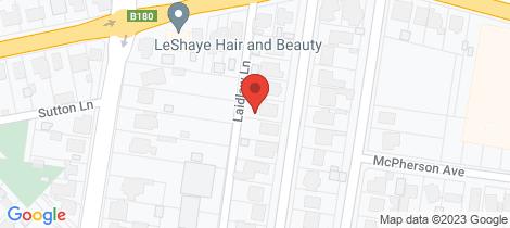 Location map for 15 Laidlaw Street Maryborough