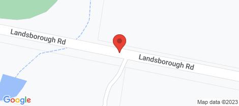 Location map for 39 Landsborough Road Landsborough