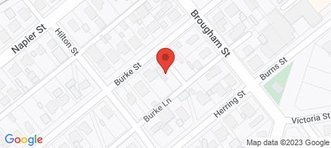 Location map for 38 Burke Street Maryborough