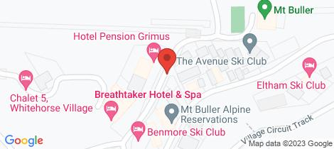 Location map for Unit 401 BREATHTAKER HOTEL & SPA Mount Buller