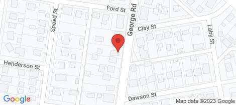 Location map for 31 George Road Ararat