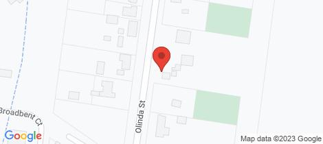 Location map for 21 Olinda Street Beaufort
