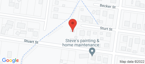 Location map for 21 Sturt Street Beaufort