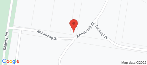 Location map for 55 Armstrong Street Creswick