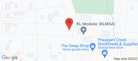 Location map for 7 Margaret Street Kinglake West