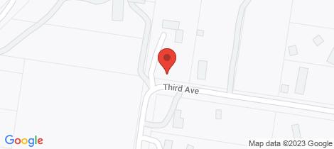 Location map for 25 Third Avenue Eden Park