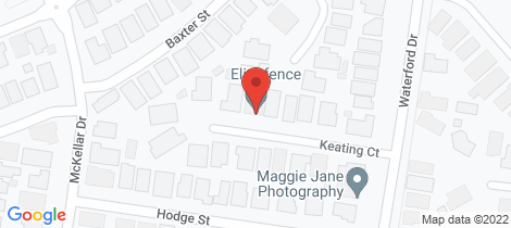 Location map for 13 Keating Court Miners Rest