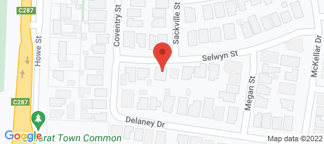 Location map for 15 Selwyn Street Miners Rest